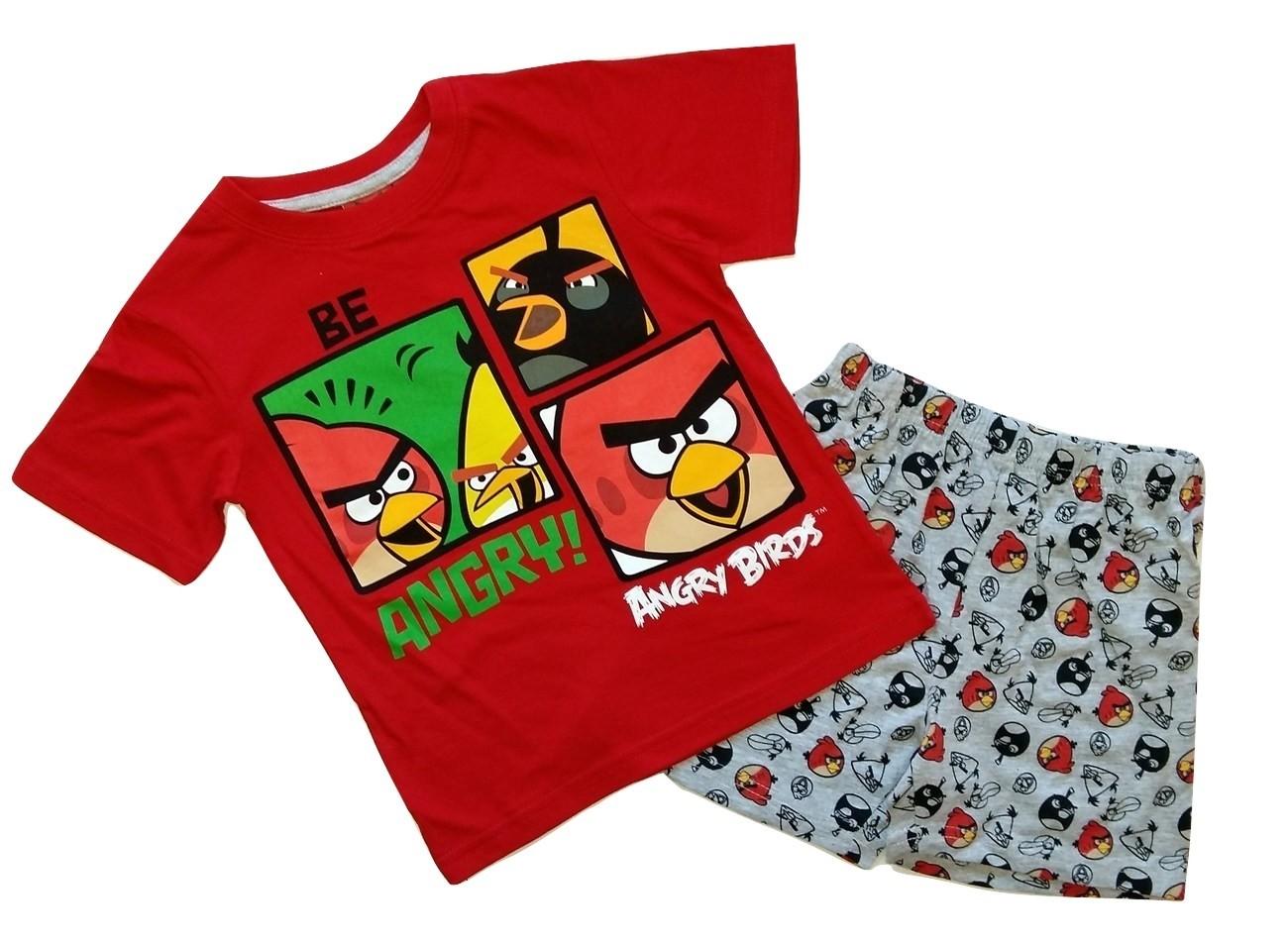 Angry Birds lühike pidžaama