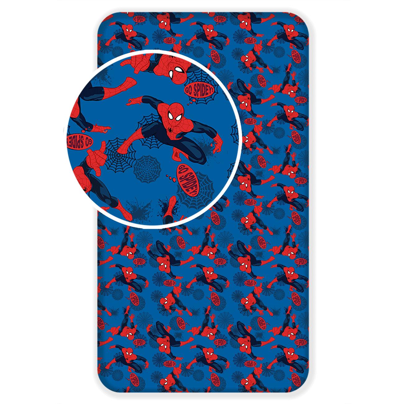 Spiderman kummiga voodilina