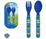 Paw Patrol lusikas ja kahvel